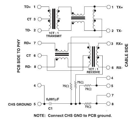 HR911103A RJ45_RJ45-RJ11-PS2_Connector_Linh Kiện Điện tử