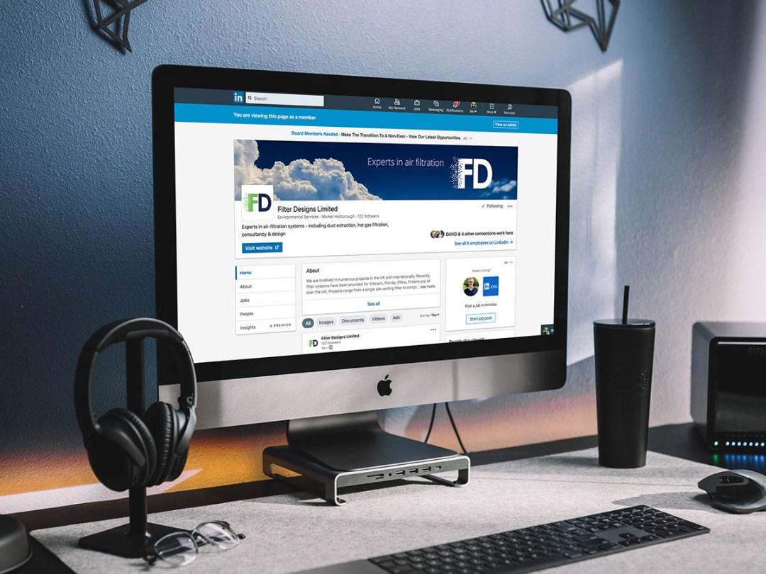Filter Designs Linkedin page