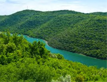 Limska Draga Fjord, Croatia