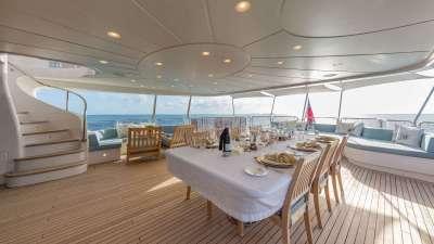 Namaste luxury charter yachta