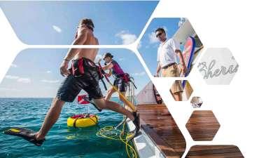 Cherish II, luxury charter yacht, Bahamas