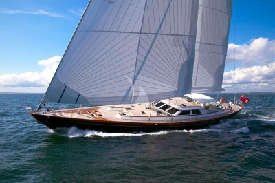 Whisper sailing yacht