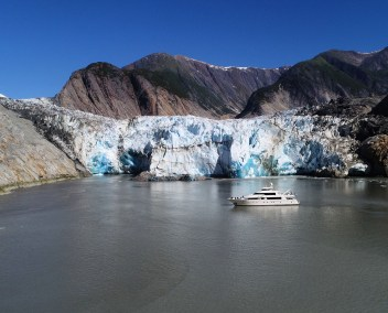 from RJC yacht charter vacation in Alaska