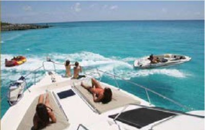 Scenes from RJC yacht charter vacation in the Caribbean