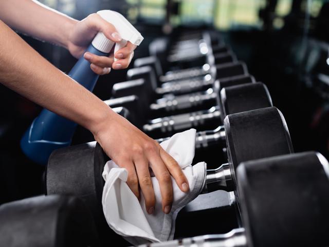 Sanitizing Sports Equipment