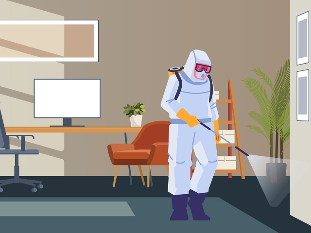 commercial covid cleaning