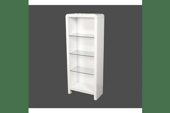 Atlantis Clarus White Bookcase Homeware And Furniture