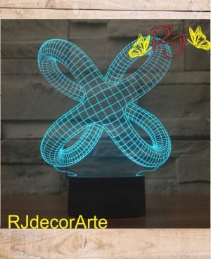lampara led 3d geometricos2