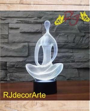 lampara led 3d geometricos4