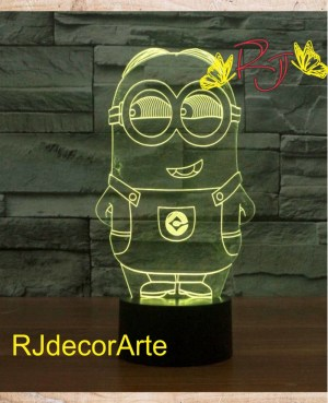 lampara led minions