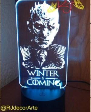 lampara led personalizada snow