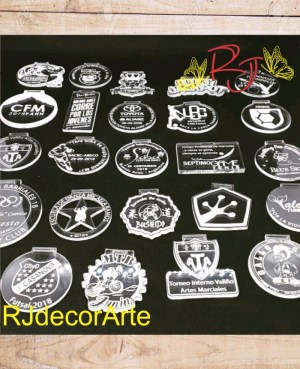 Medallas personalizadas Acrílico