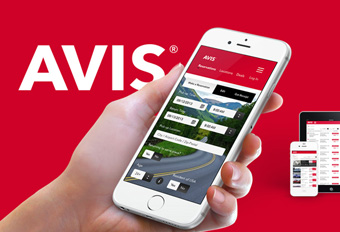 Avis Website Rebranding
