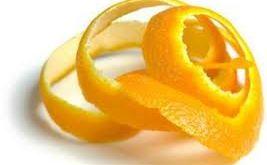 قشر البرتقال لإزالة المكياج