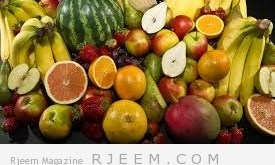 فوائد الفاكهة و قشرها