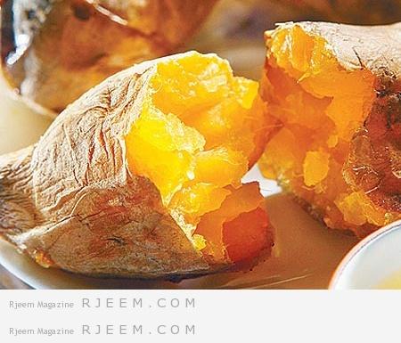 البطاطا الحلوة صحة و جمال