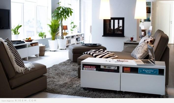 ديكورات غرف معيشة عصرية 2014