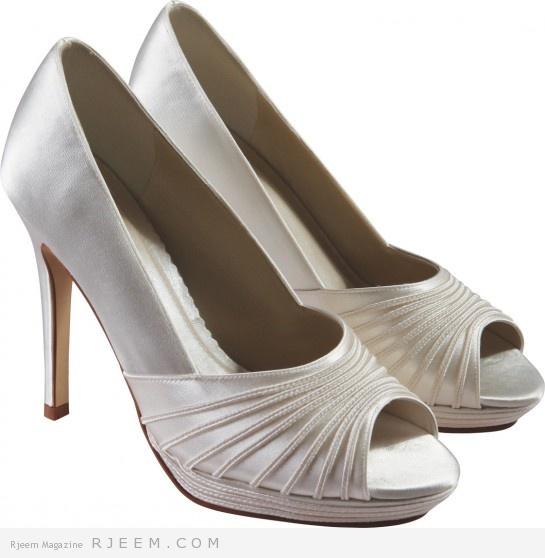 احذية زفاف لعروس 2014