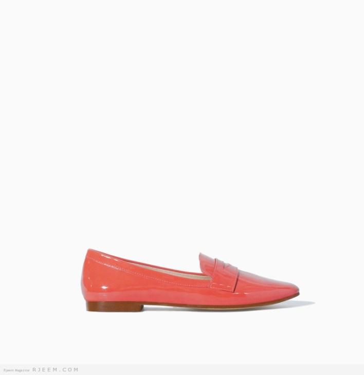 احذية بدون كعب صيفية 2014