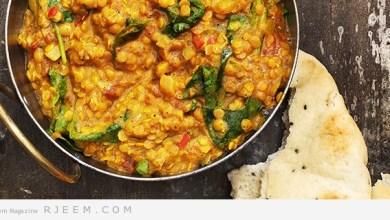 Photo of حساء العدس بالطريقة الهندية