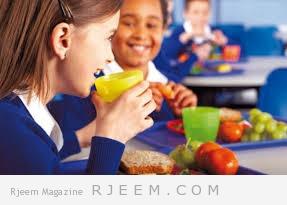 التغذية السليمة في فترة  الامتحانات