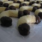هلال بالشوكولاطة و جوز  الهند