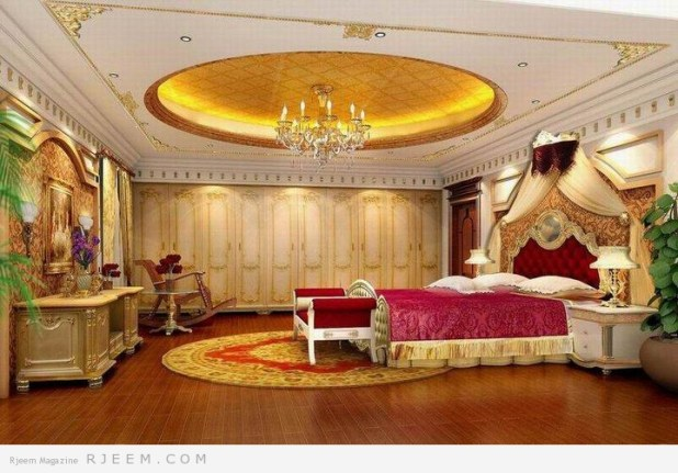 غرف نوم للعرسان روعة