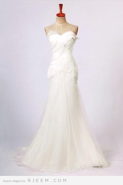 فساتين زفاف لعروس 2014 روعه
