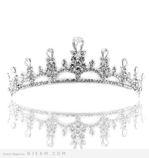 أكسسوارات للشعر لعروس 2014