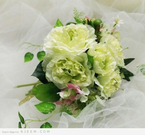مسكات زهور روعه لعروس 2014
