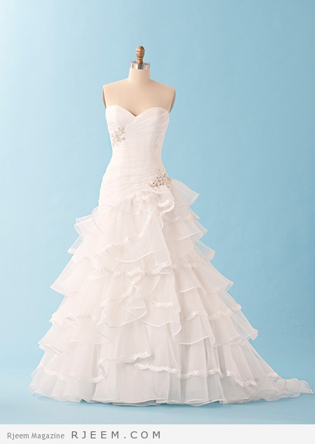 فساتين زفاف رائعة لعروس 2015