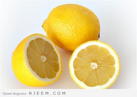 الليمون لتبييض المناطق الحساسة