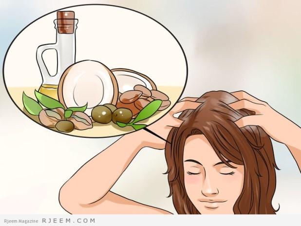 6 طرق طبيعية لشعر صحي