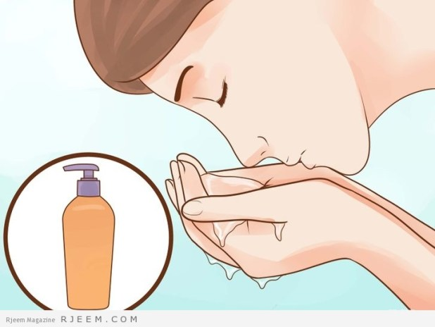 طرق تنظيف البشرة قبل النوم