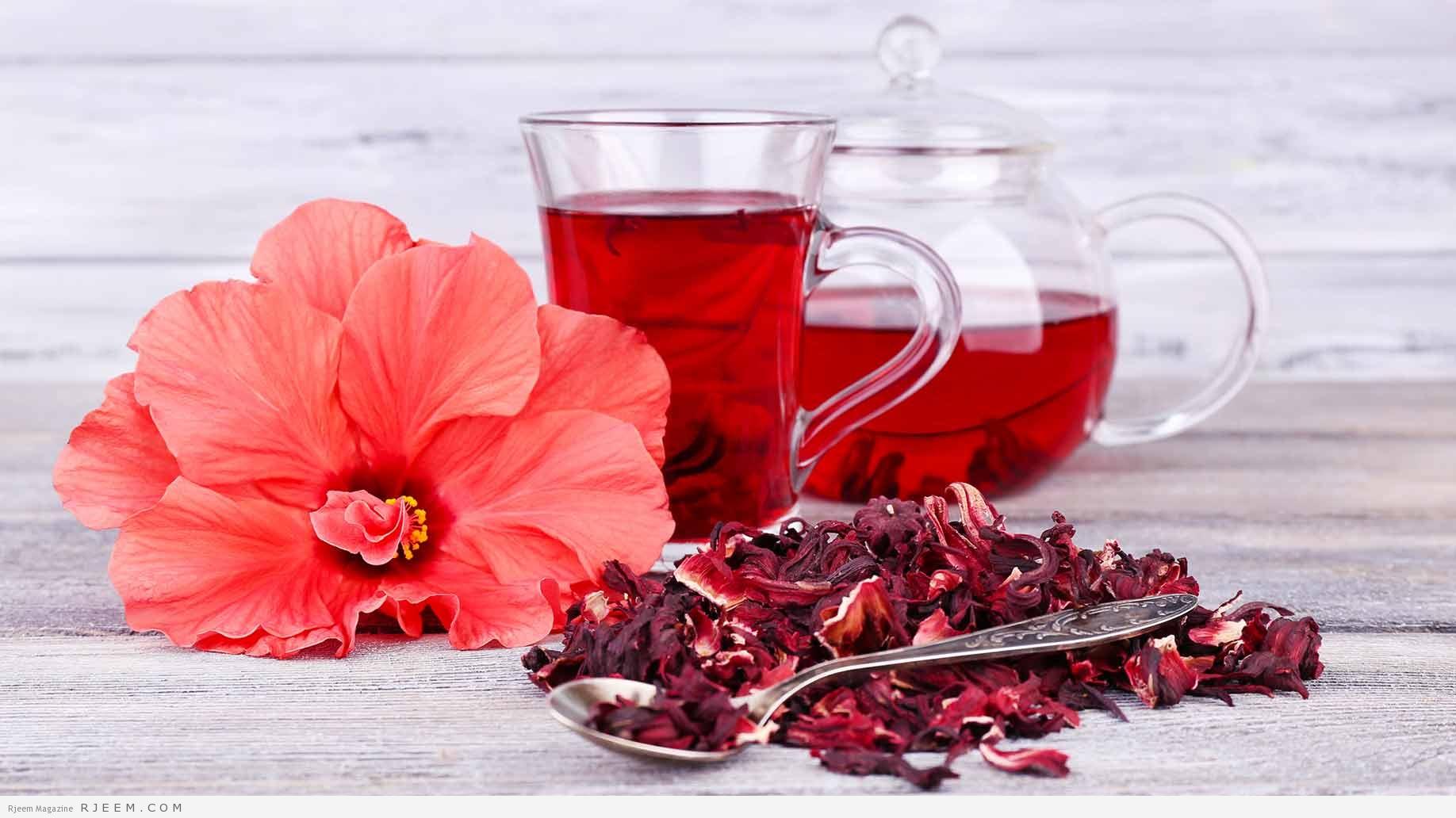 شاي الكركديه لخسارة الوزن في شهر رمضان !