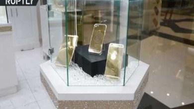 Photo of فيديو: بيع أيفون مرصع بالذهب وصورة ترامب بـ 151ألف دولار