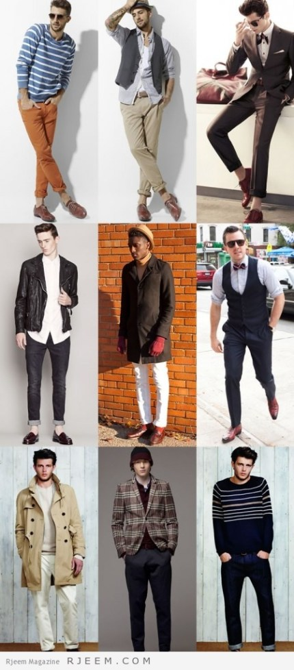 12bf2a1e9 أحذية رجالى داكنة. للرجال فقط اللون الاحمر الغامق ...