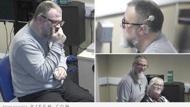 Photo of فيديو: زوجان يسمعان بعضهما لأول مرة منذ 12 عامًا.. هكذا كانت مفاجأة الزوج لزوجته!