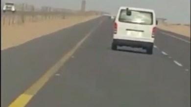 Photo of شاهد: المرور يتفاعل مع فيديو رصد باص معلمات يسير بسرعة 180