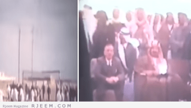 Photo of فيديو نادر للملك عبدالعزيز يحضر نهائي مباراة كرة قدم بالظهران ويسلم الكأس للفريق الفائز