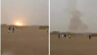 Photo of فيديو: قذائف تسقط خلال مباراة كرة قدم باليمن.. ولحكم يستأنف اللعب