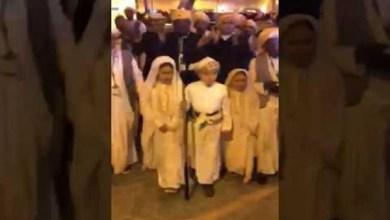 Photo of فيديو: زفة تراثية لأصغر عروسين في الجنادرية