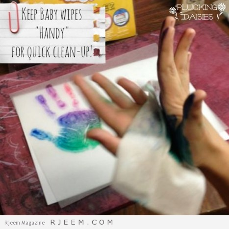 Mother's Day Craft for Kids {Handprint Charms} | Pluckingdaisies.com