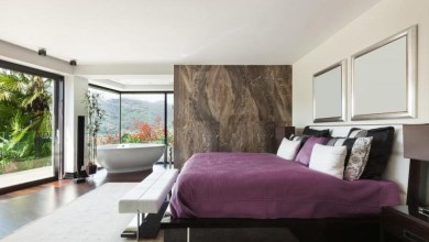Photo of أفكار ديكور غرفة النوم والحمام المتصلين