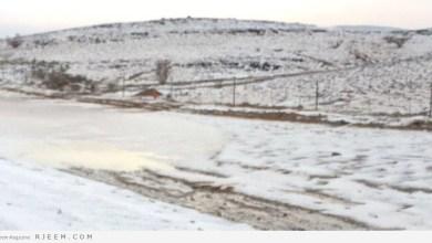 Photo of بالفيديو والصور.. هكذا أصبحت شوارع السعودية بعد السيول الثلجية!