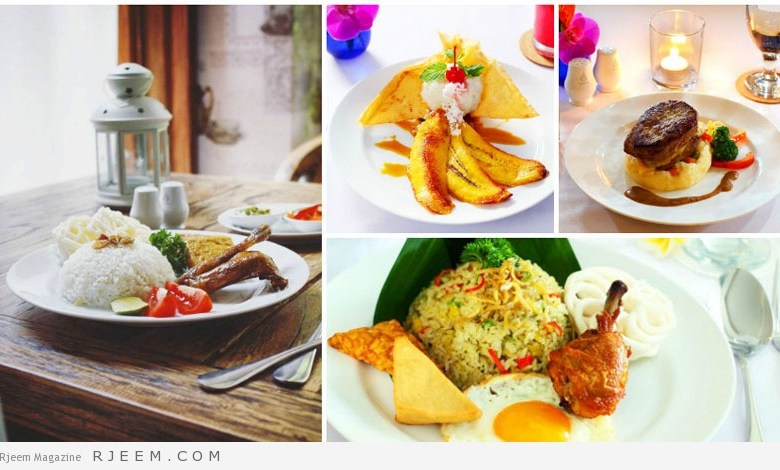 Photo of تعرف على أهم المطاعم الحلال في بالي