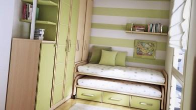 Photo of غرف نوم أنيقة للأطفال تناسب المساحات الضيقة