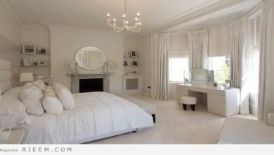 Photo of غرف نوم باللون الابيض