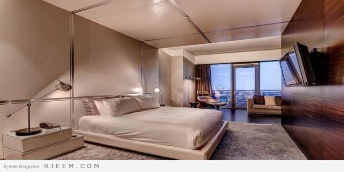 غرف نوم مودرن كالفنادق