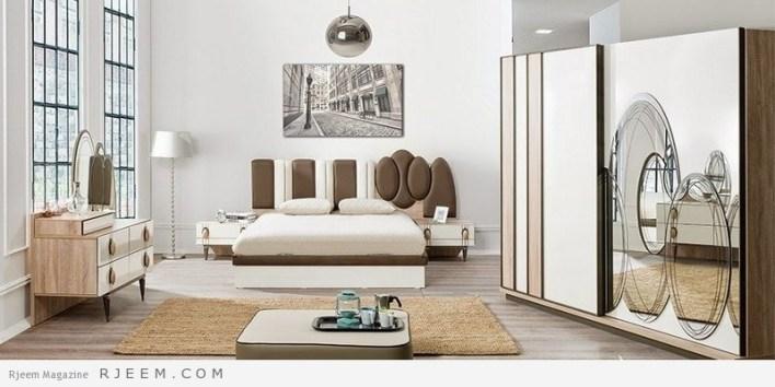 احدث غرف نوم عرسان كاملة باشكال جميلة